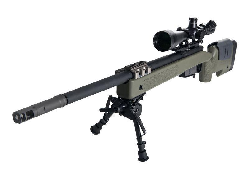 SNIPER GAZ MC MILLAN M40A5 OD 1.8 JOULES