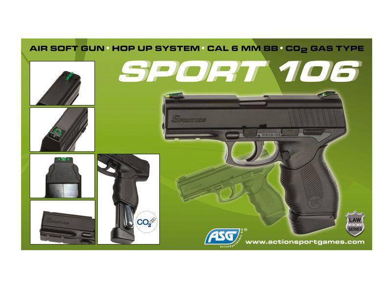 SPORT 106 NOIR CO2