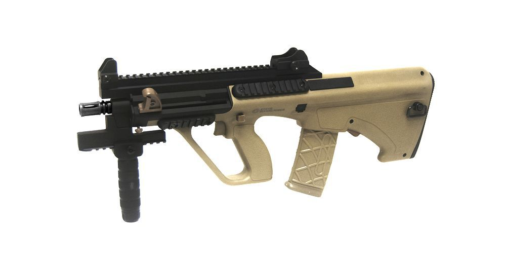 STEYR AUG A3 XS COMMANDO TAN ET NOIR PROLINE
