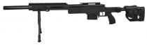Swiss Arms SAS 10 NOIR avec bipieds chargeur 40 Billes