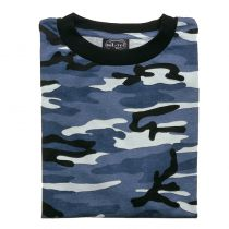 T-SHIRT CAMO SKYBLUE