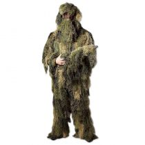 TENUE DE CAMOUFLAGE GHILLIE SUIT 3 PIECES