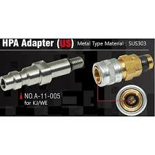 Valve HPA US compatible KJW / WE