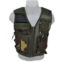 Veste tactique type Recon DMoniac camo Woodland