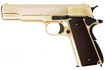 WE 1911 A Version Gold Full Metal Gaz Blowback