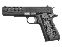 WE 1911 Hex Cut Noir Full Metal Gaz Blowback