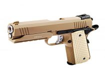 WE Desert Warrior 4.3 tan Blowback airsoft full métal