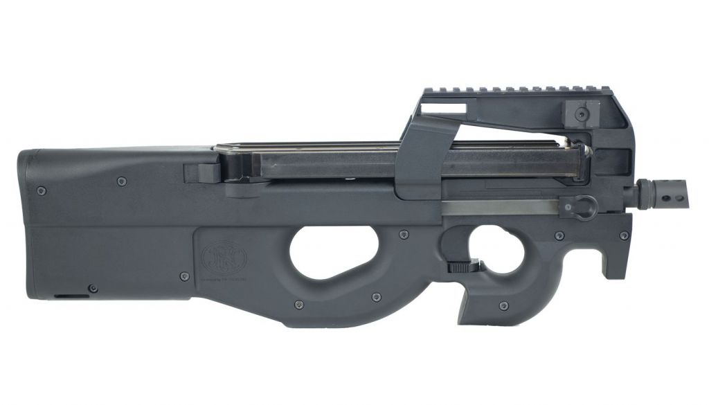 WE FN Herstal P90 Airsoft Noir Gaz Blowback GBBR