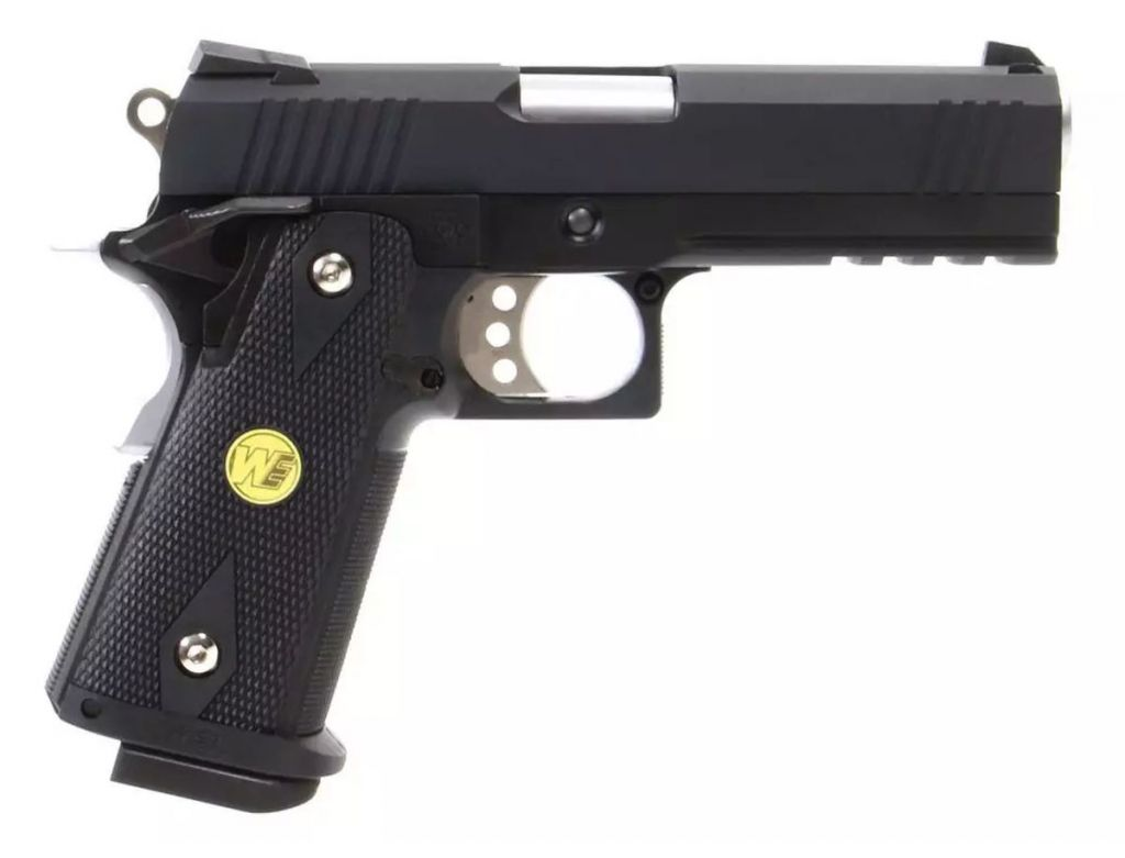 WE Hi-Capa 4.3 Noir Full Metal Gaz Blowback
