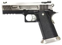 WE Hi-Capa 4.3 Silver Allosaurus Full Metal Gaz Blowback