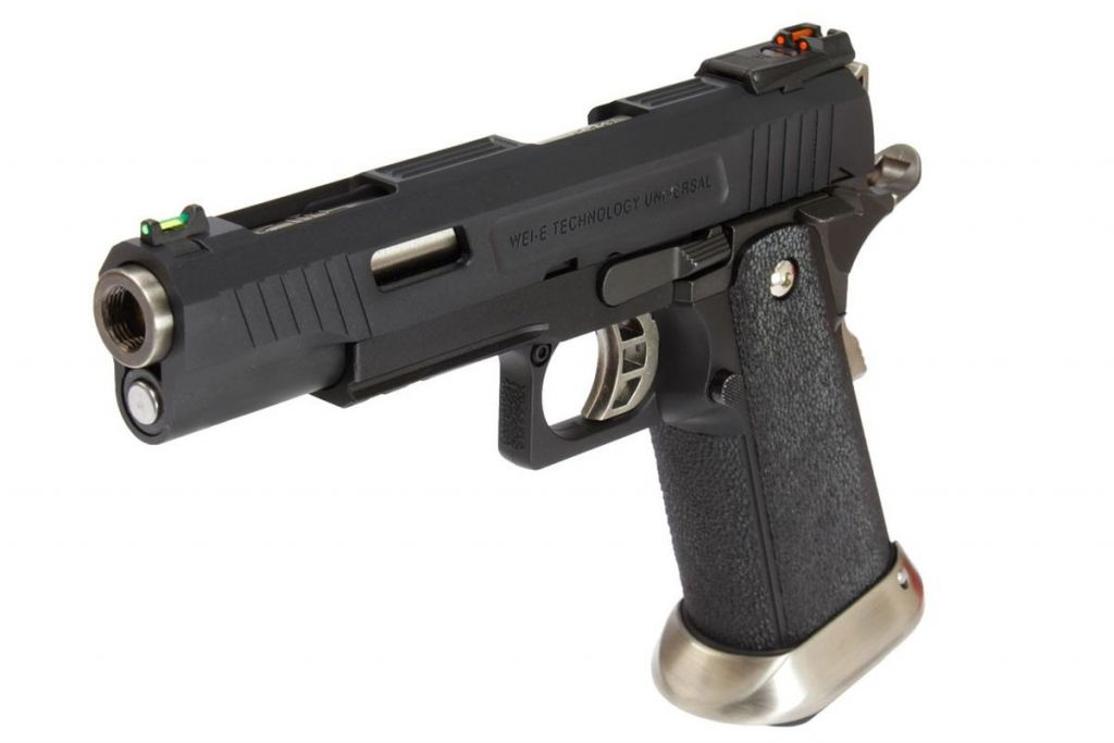 WE Hi-Capa 5.1 Force Noir Full Metal Gaz Blowback