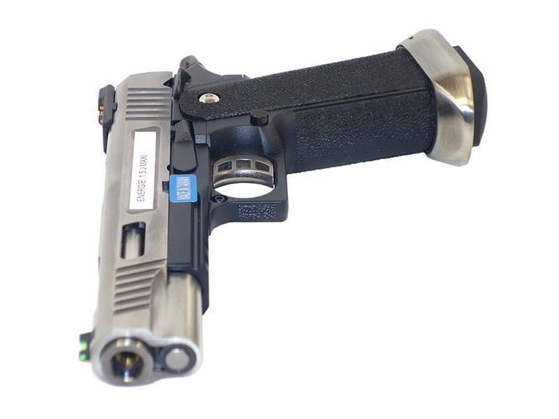 WE Hi-Capa 5.1 Silver T-Rex GAZ Blowback 0.9J airsoft