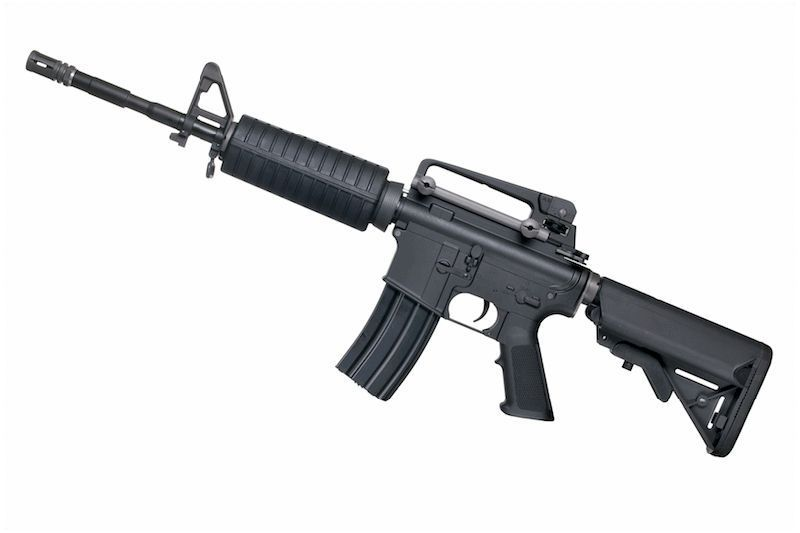 WE M4A1-AEG KATANA M120 CYLINDRE ROUGE