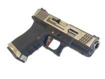 WE S19 G-FORCE T7 METAL ET NYLON BLOWBACK ARGENT/ARGENT/NOIR