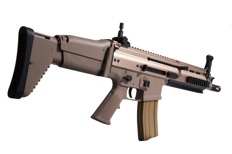 WE SCAR-L OPEN BOLT CQC GBBR BLOW-BACK DE